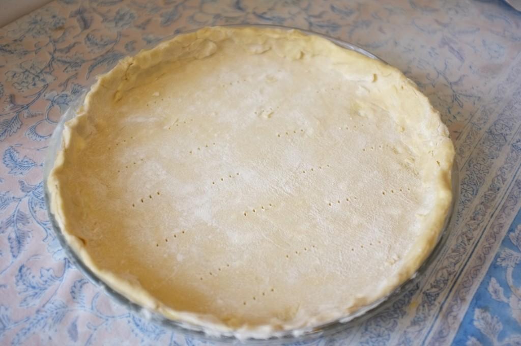 la pâte sans gluten pour la tarte aux asperges et aux poireaux