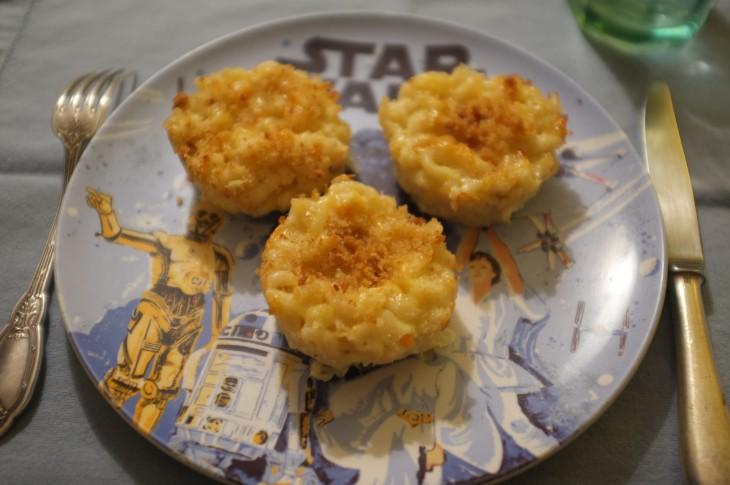 Recette sans gluten de muffins de coquillettes aux fromages ou «Mac & Cheese»