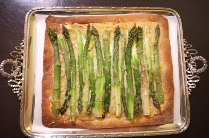 Recette sans gluten de la tarte aux asperges