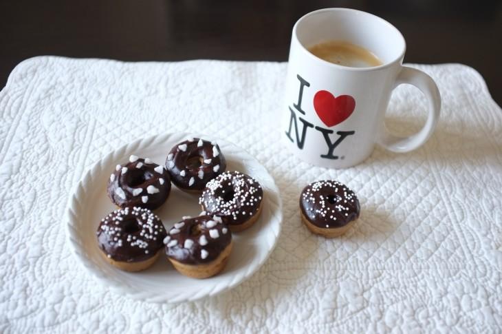 Recette sans gluten de mini donuts à la vanille