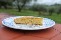 Recette sans gluten de gâteau à l'Amaretto