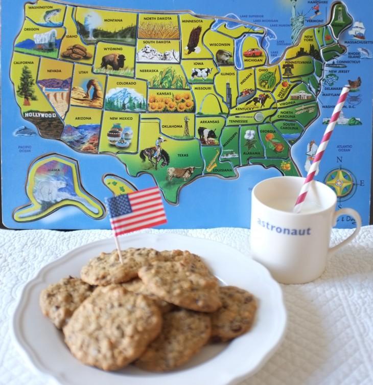 Recette sans gluten de cookie aux pépites de chocolat, beurre de cacahouète et noix de pécan