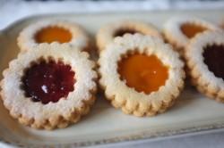 Recette sans gluten de biscuits «Linzer»
