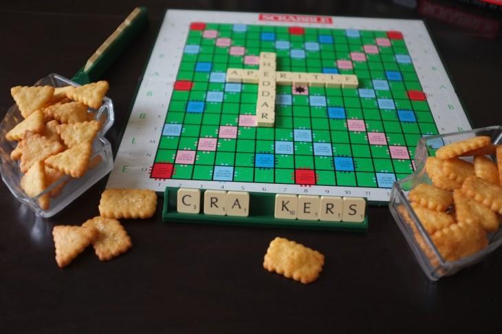 recette sans gluten de crackers au cheddar