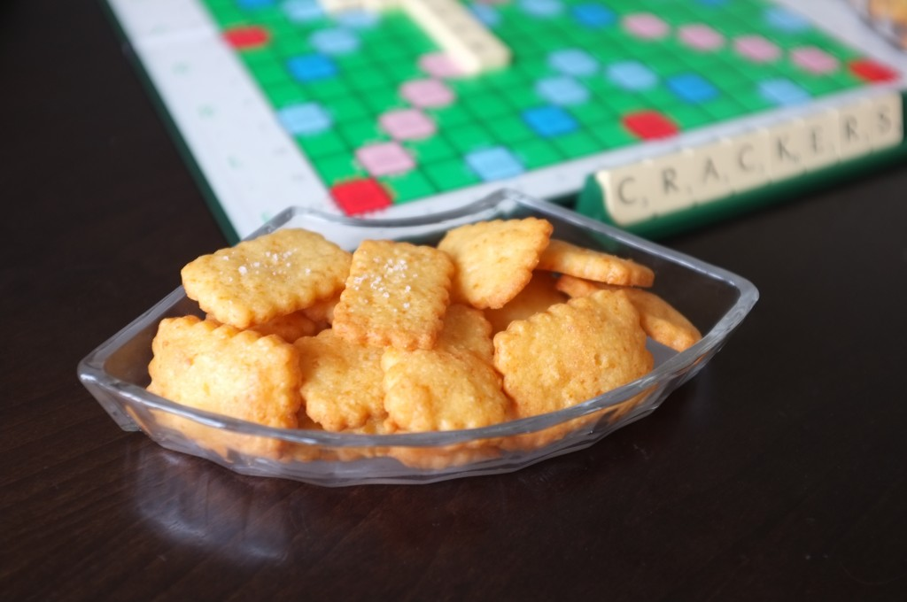 crackers au cheddar sans gluten