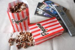 Recette sans gluten de popcorn au caramel