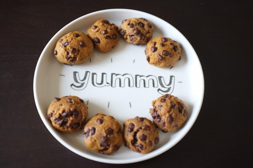 recette sans gluten de cookie au café et pépites de chocolat