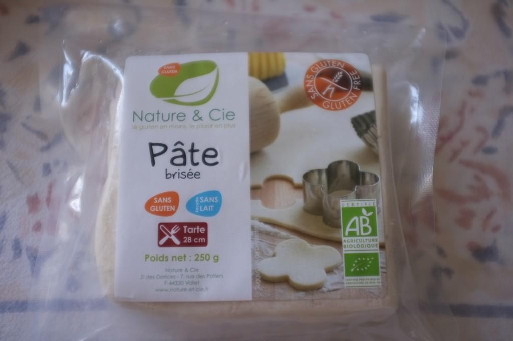 la pâte brisée toute prête de Nature & Compagnie