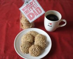 recette sans gluten de sablés à l'Espresso et noix de pécan