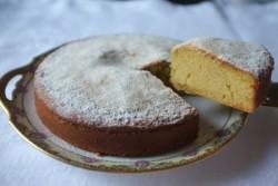 Recette sans gluten de gâteau au yaourt et au citron