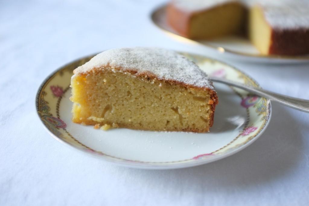 gâteau sans gluten au yaourt et au citron