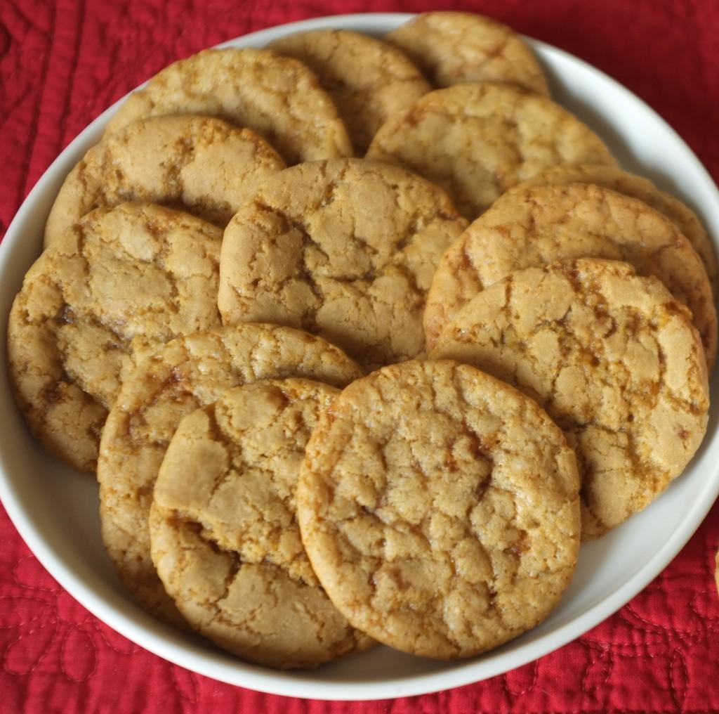 cookies sans gluten au sirop d'érable