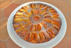 recette sans gluten de tarte à l'abricot