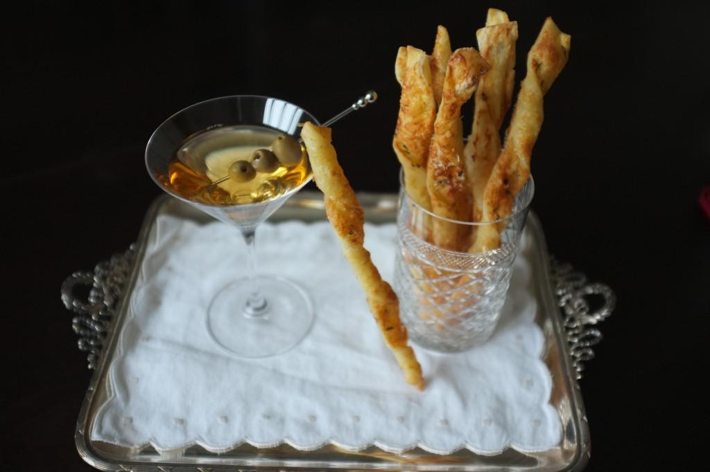 Flutes feuilletées sans gluten aux deux fromages