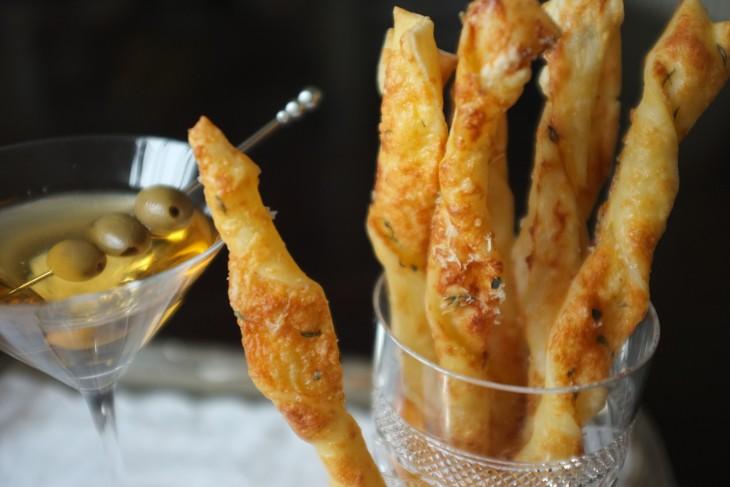 Recette sans gluten de flute feuilletée aux deux fromages