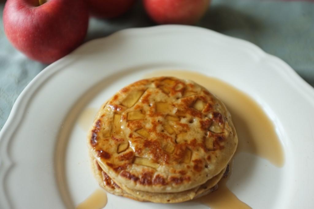 Les pancakes à la pomme