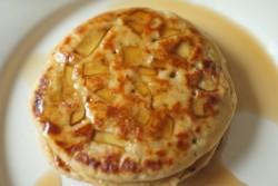 recette sans gluten de pancake à la pomme