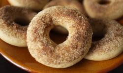 recette sans gluten de donuts à la cannelle