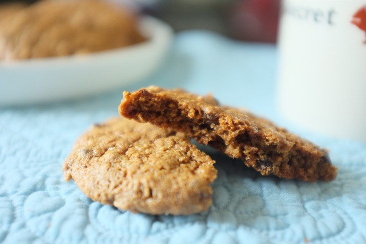 recette sans gluten de «cookie p'tit déjeuner»