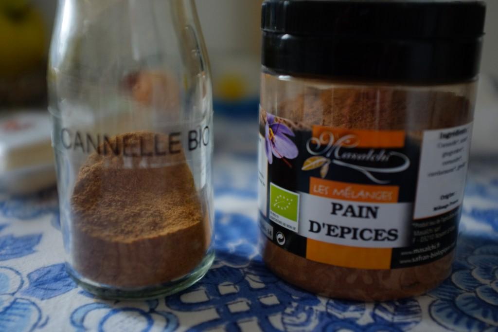 """Au final, j'ai utilisé le mélange """"Pain d'épices"""", plutôt que simplement de la cannelle."""