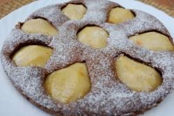 recette sans gluten de gâteau poire et chocolat