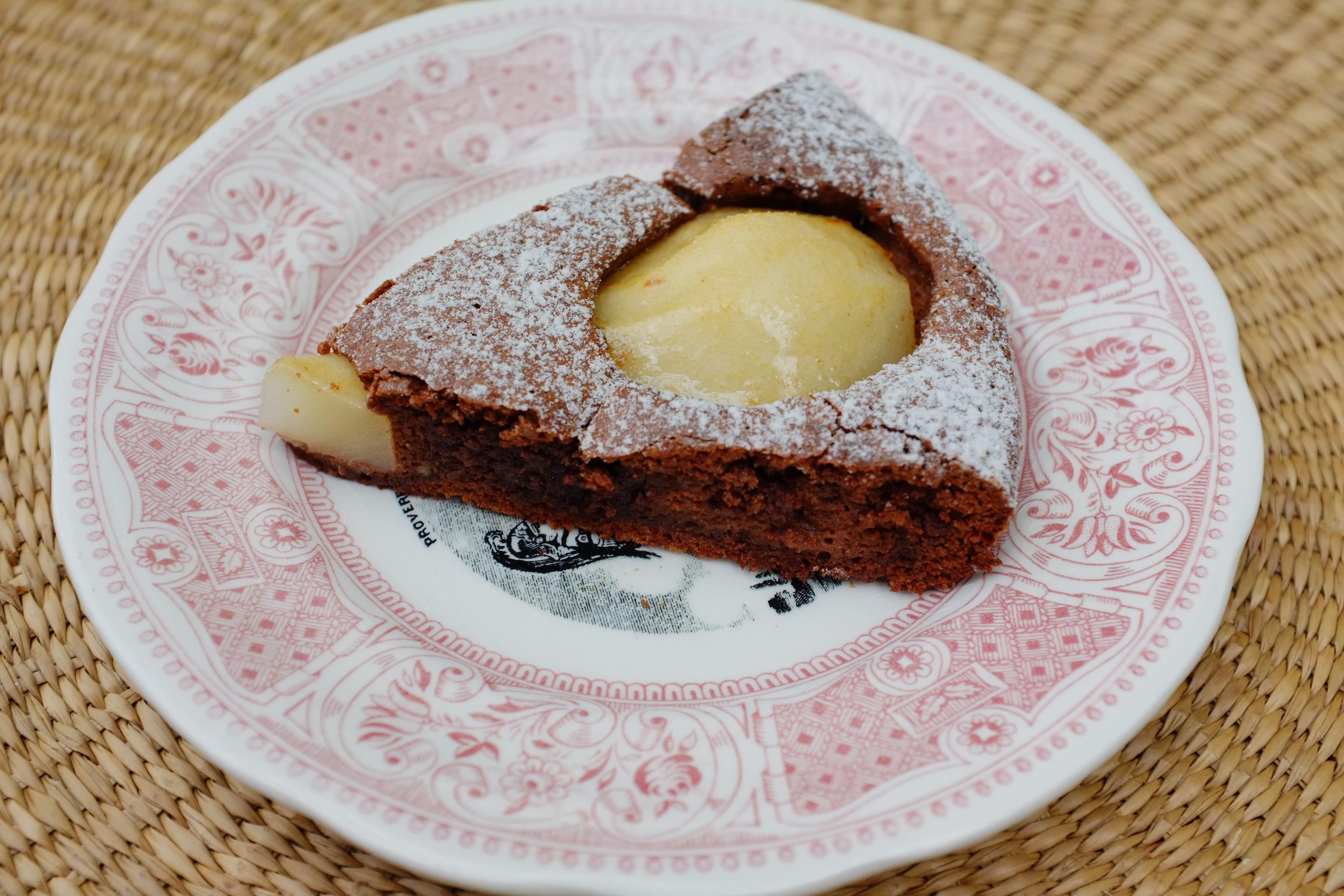 Gateau chocolat creme fraiche sans farine