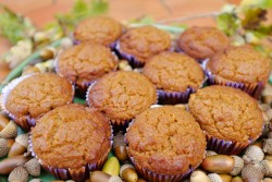 recette sans gluten de muffins au potiron