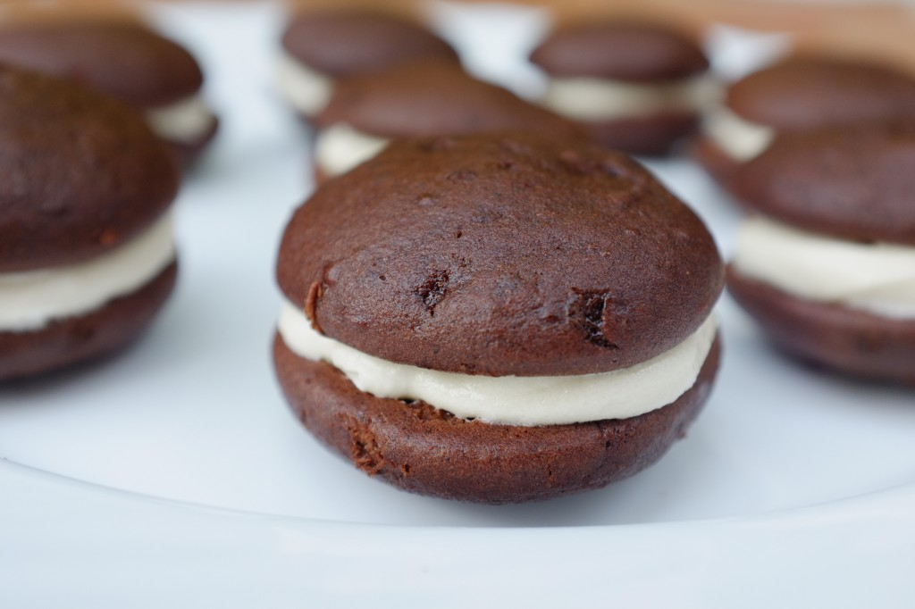Le biscuit whoopie sans gluten au chocolat