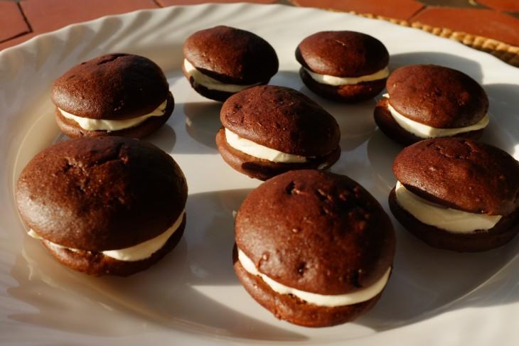 recette sans gluten de whoopie au chocolat
