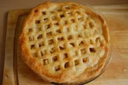 recette sans gluten d'Apple Pie rapide