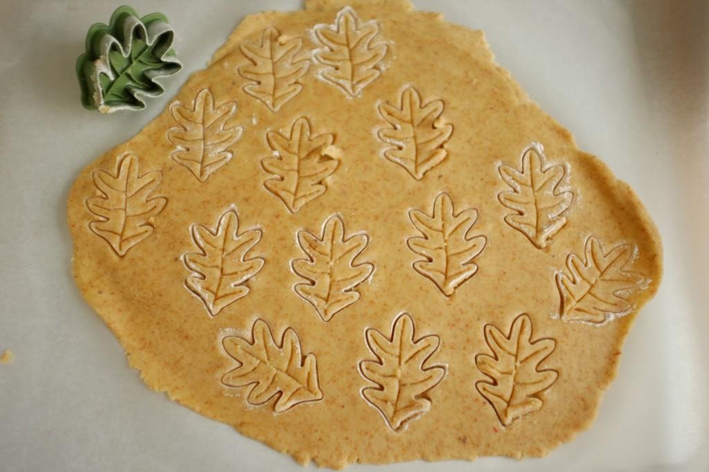 La forme de l'emporte-pièce est directement imprimé dans la pâte.