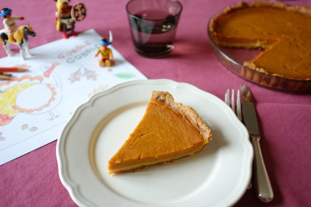 """La tarte au potiron sans gluten """"thanksgiving"""""""