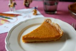 recette sans gluten de tarte au potiron et sirop d'érable