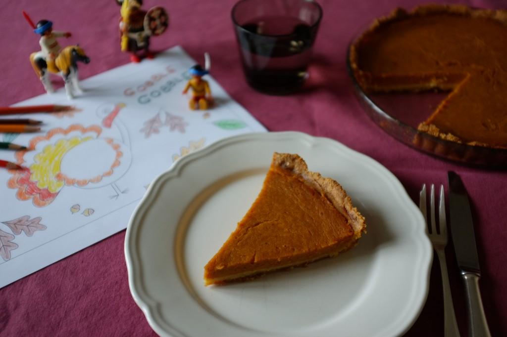 """La tarte sans gluten au potiron """"thanksgiving"""""""