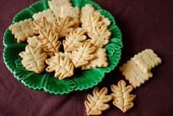 recette sans gluten de biscuit d'automne à la noisette