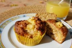 recette sans gluten de muffins ananas et noix de coco