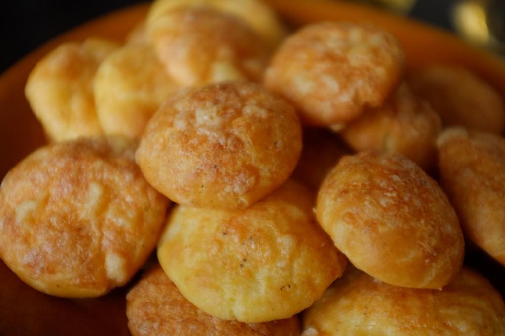 Les gougères sans gluten au fromage