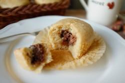 recette sans gluten de muffins à la pâte à tartiner «noisette»