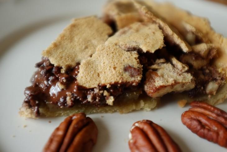 recette sans gluten de tarte chocolat – noix de pécan