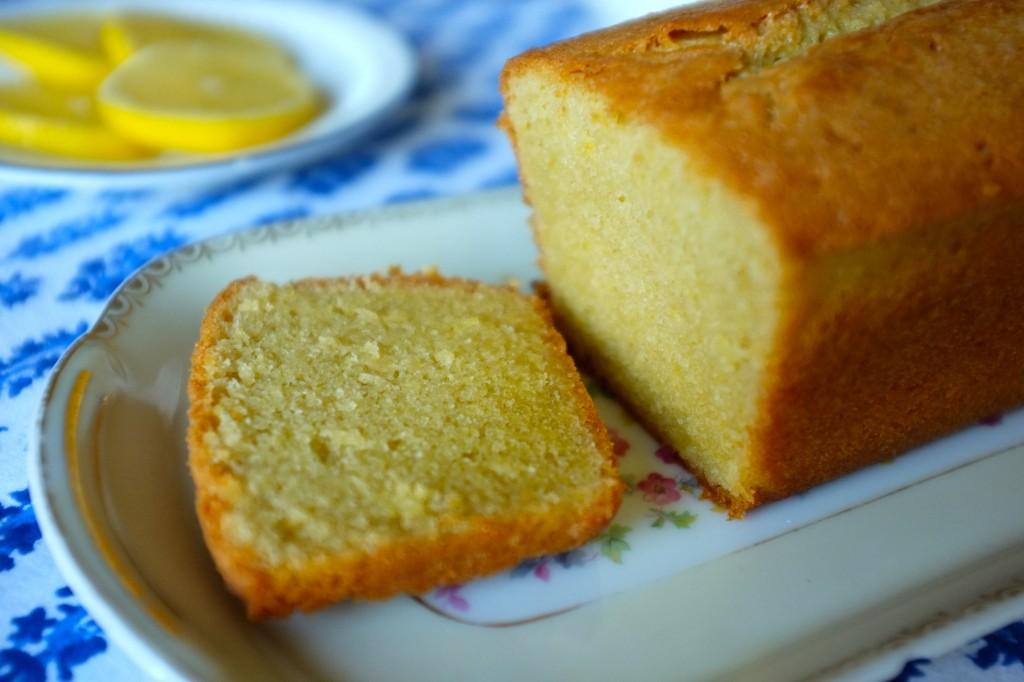 Le cake sans gluten au citron