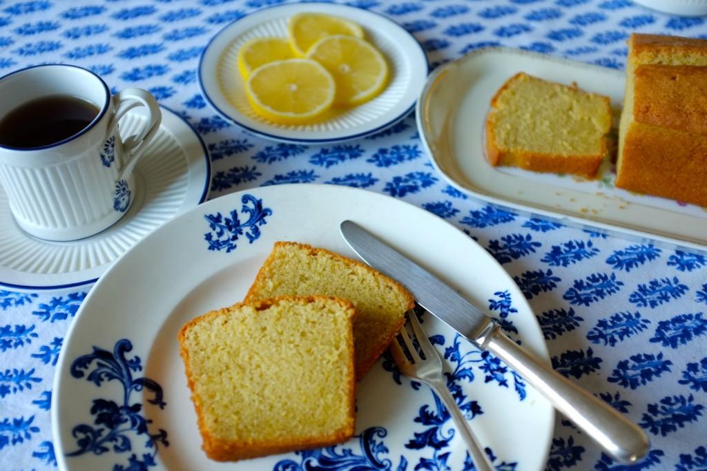 Le cake au citron sans gluten