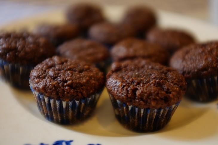 recette sans gluten de mini-muffins chocolat-expresso
