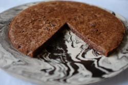 recette sans gluten de tarte chocolat-noisette-orange