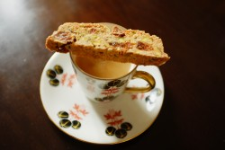 recette de biscotti abricot-pistache