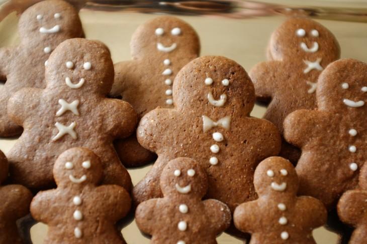 recette sans gluten de biscuit «bonhomme pain d'épices»
