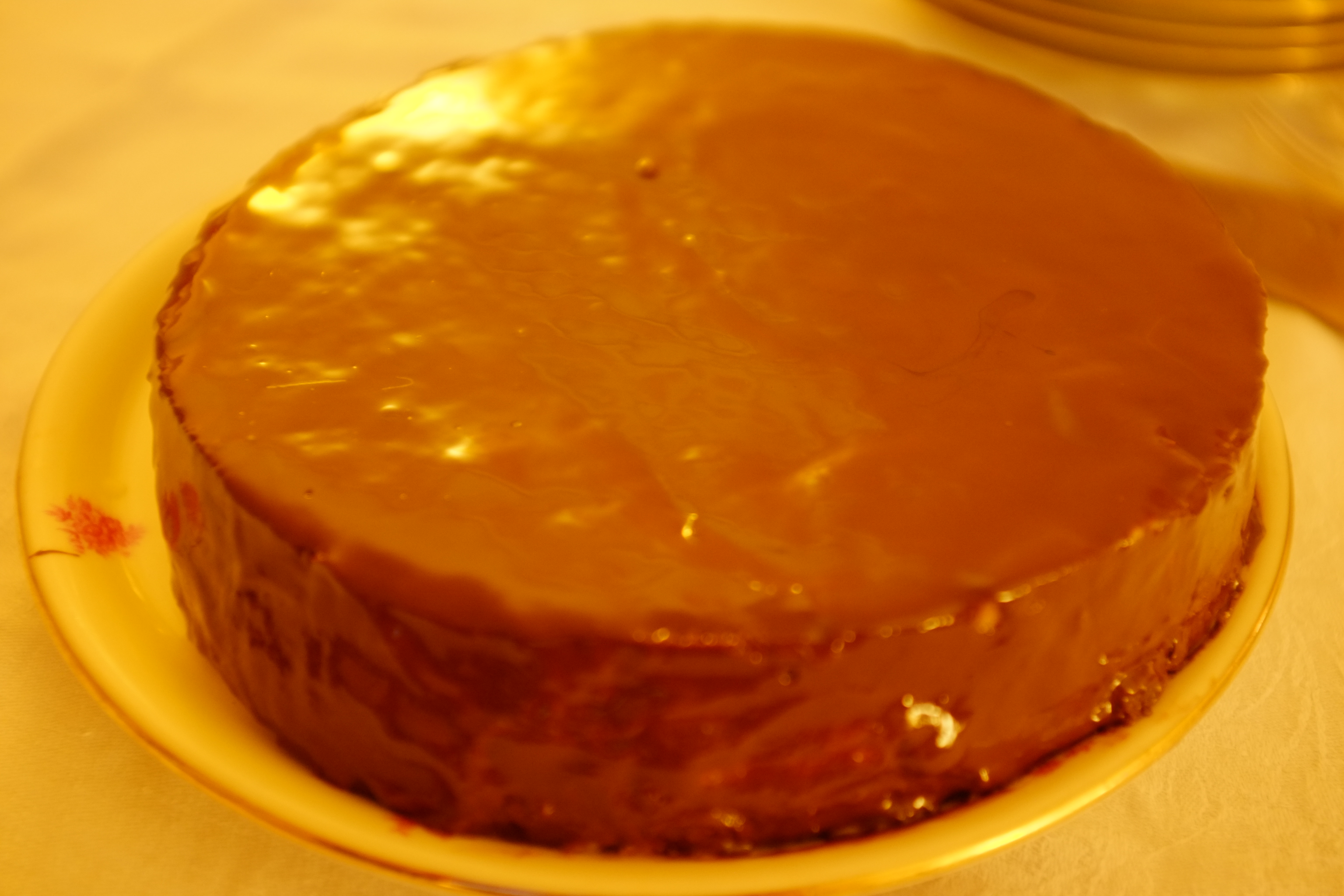 Gateau creme au marron
