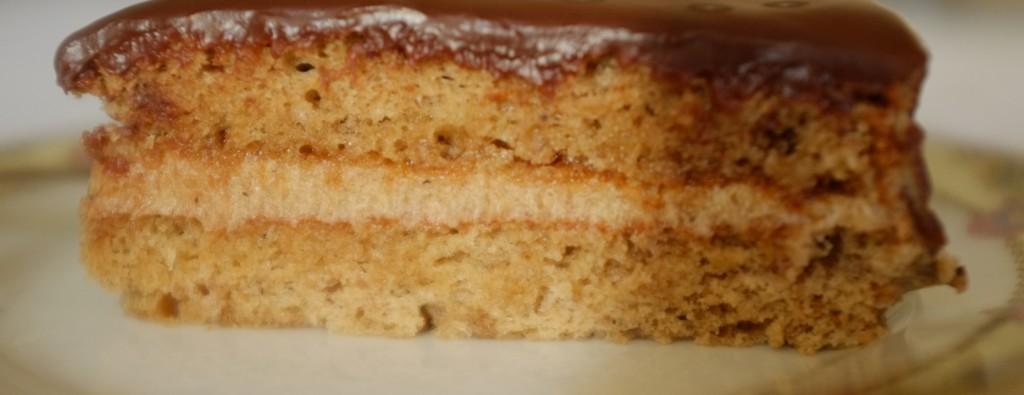 Le gâteau sans gluten crème de marron,rhum et chocolat