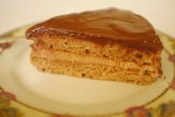 recette sans gluten de gâteau crème de marron, rhum et chocolat