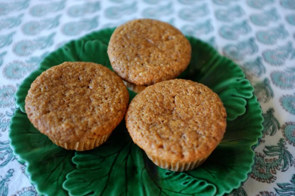 Les muffins sans gluten à la compote de pomme et cannelle