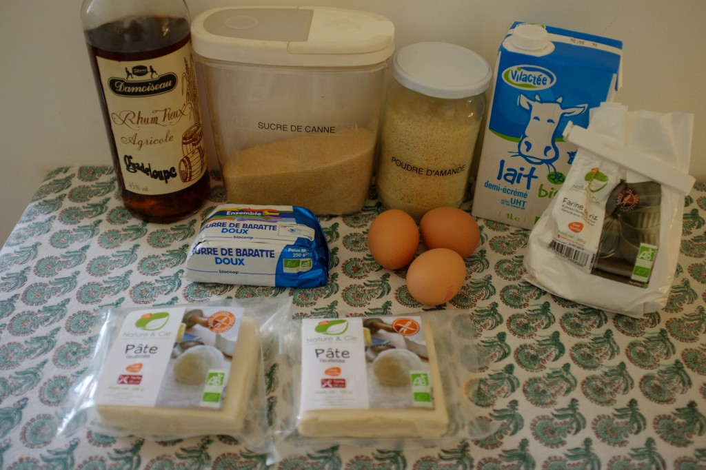 Les ingrédients sans gluten pour la galette des Rois